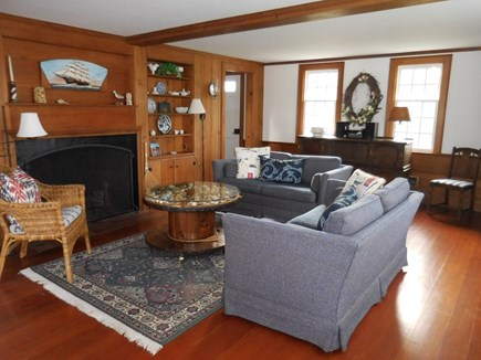 Chatham Cape Cod vacation rental - An inviting Living room with Fireplace welcomes you!