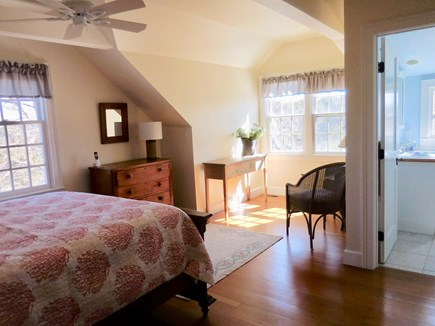 Chatham Cape Cod vacation rental - The Waterfront Master Bedroom has an Ensuite Bath!