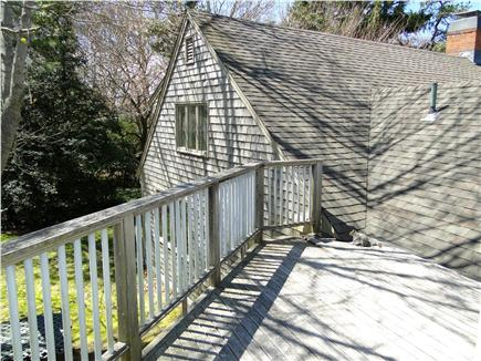 Hyannis Cape Cod vacation rental - Sunny deck off the second floor