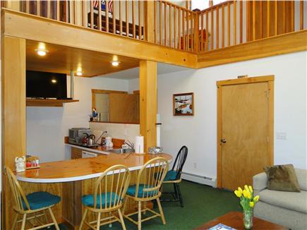 Hyannis Cape Cod vacation rental - Sunken Galley British wet bar kitchenette with TV
