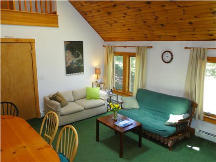 Hyannis Cape Cod vacation rental - View of living room from staircase