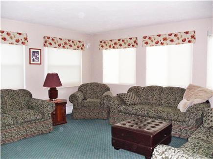 South Chatham Cape Cod vacation rental - Upstairs living room large enough for everyone