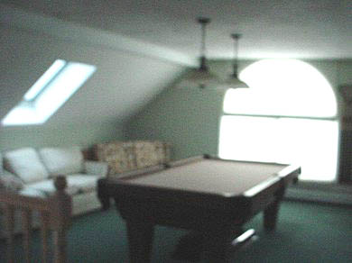 South Chatham Cape Cod vacation rental - 3rd floor recreation room with full size futon and twin bed