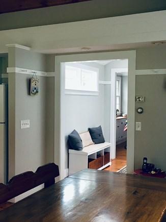 Harwich Cape Cod vacation rental - Kitchen & foyer entrance