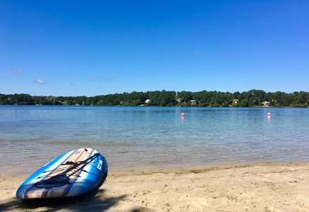 Harwich Cape Cod vacation rental - Buck's Pond Beach-swim, kayak, fish, paddle board
