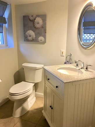 Harwich Cape Cod vacation rental - 1/2 bath in finished basement