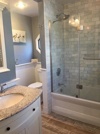 Harwich Cape Cod vacation rental - 1st floor refinished full bathroom