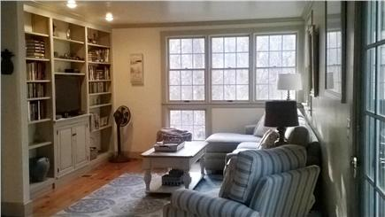 Harwich Cape Cod vacation rental - Large shaker style living area w/fireplace