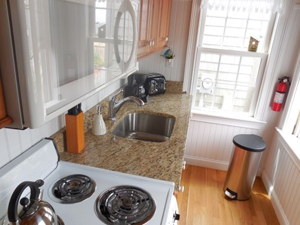 West Yarmouth Cape Cod vacation rental - Fully equipped galley kitchen