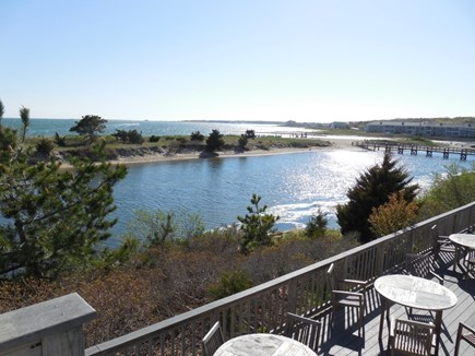 West Yarmouth Cape Cod vacation rental - Condo deck overlooking Lewis Bay