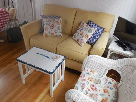 West Yarmouth Cape Cod vacation rental - Comfortable living room with TV/DVD