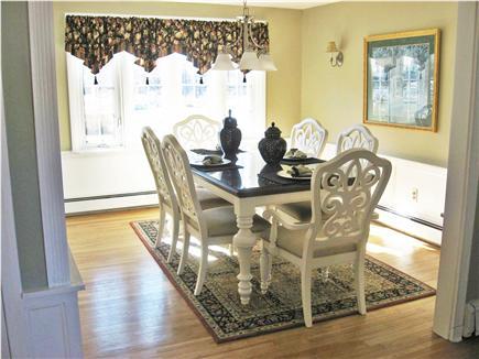 West Dennis Cape Cod vacation rental - Dining Room--Formal dining room off kitchen
