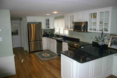 West Dennis Cape Cod vacation rental - Kitchen—New, open, stainless steel appliances, granite