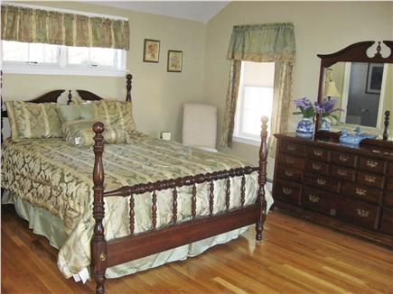 West Dennis Cape Cod vacation rental - Master bedroom suite, gorgeous private bath, french doors