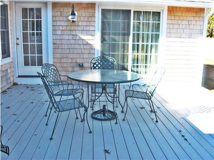 West Dennis Cape Cod vacation rental - Trek deck, privacy, overlooks private yard
