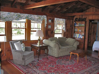 West Dennis Cape Cod vacation rental - Cozy sitting area within the home's second living room