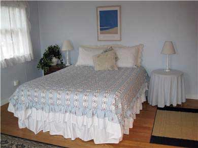 West Dennis Cape Cod vacation rental - Light and airy master bedroom with queen bed