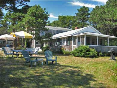 West Dennis Cape Cod vacation rental - Large riverside yard for relaxing or recreational activities