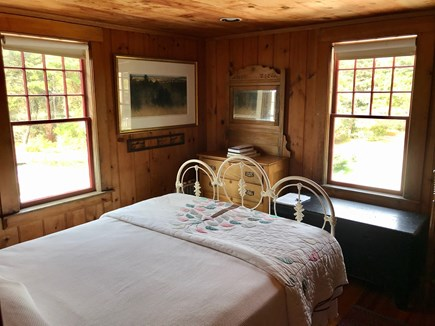 Chequessett Bluff, Wellfleet Cape Cod vacation rental - First Floor Queen Bedroom