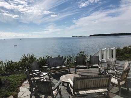 Chequessett Bluff, Wellfleet Cape Cod vacation rental - Panoramic Mayflower Shallop Waters
