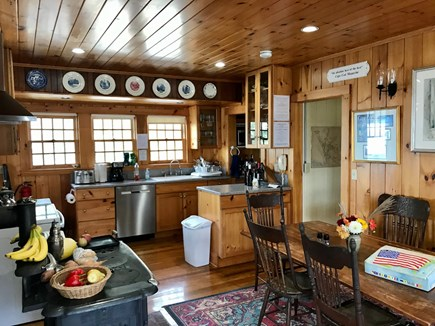 Chequessett Bluff, Wellfleet Cape Cod vacation rental - Cape Cod Kitchen