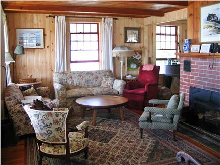 Chequessett Bluff, Wellfleet Cape Cod vacation rental - Sea Captain's Living Room