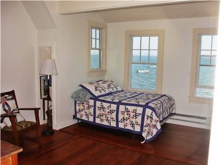 Provincetown Cape Cod vacation rental - East facing bedroom with full bed