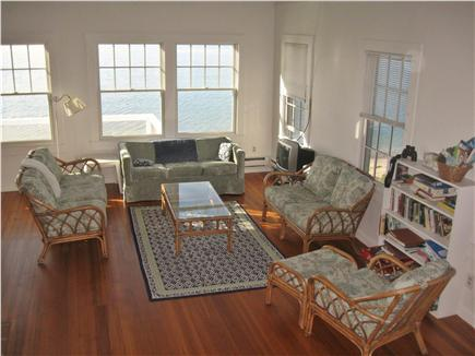Provincetown Cape Cod vacation rental - Living Room