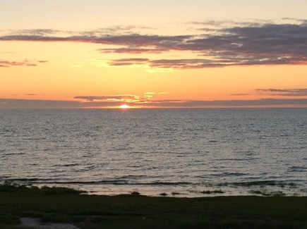 Orleans Cape Cod vacation rental - View from the Deck during sunset