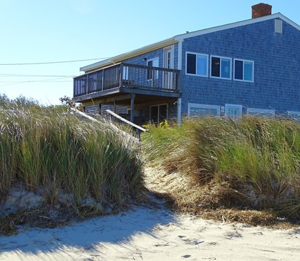 Orleans Cape Cod vacation rental - View of the second floor condominium from the beach
