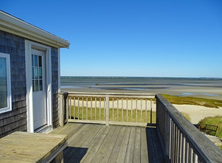 Orleans Cape Cod vacation rental - Best place to drink morning coffee – deck overlooking beach
