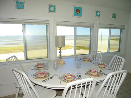 Orleans Cape Cod vacation rental - Dine as you overlook panoramic views of Cape Cod Bay