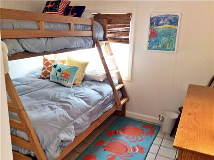 Orleans Cape Cod vacation rental - Bedroom 1 - Bunk beds: top twin, bottom full