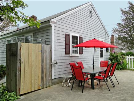 Dennis Cape Cod vacation rental - Hot outdoor shower, great for beach days