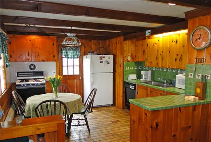 Dennis Cape Cod vacation rental - Well equipped kitchen with dining area
