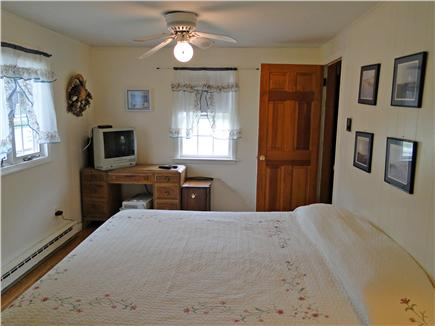 Dennis Cape Cod vacation rental - Master bedroom includes ceiling fan