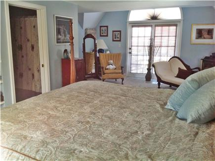 Dennis Cape Cod vacation rental - Master suite over garage with full bath