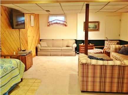 Dennis Cape Cod vacation rental - Lower level sleeping area, great for the children withTV/DVD/VCR