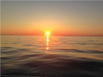 Dennis Cape Cod vacation rental - Sunsets on your beach