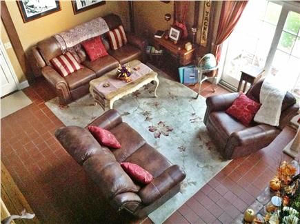 Dennis Cape Cod vacation rental - family room/living room