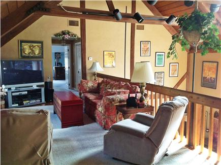 Dennis Cape Cod vacation rental - 2nd floor family room loft