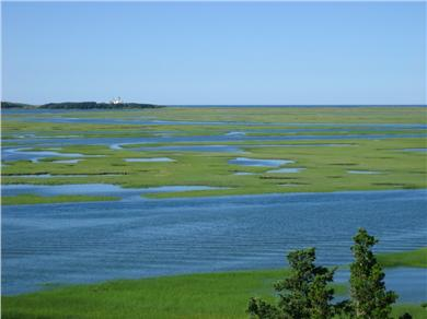 Eastham Cape Cod vacation rental - Nauset Marsh from Fort Hill