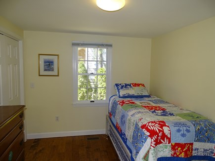 Mashpee, Popponesset Beach Cape Cod vacation rental - Third bedroom with trundle bed, TV