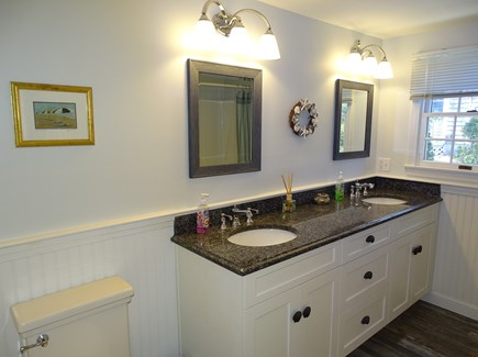 Mashpee, Popponesset Beach Cape Cod vacation rental - Both bathrooms have been recently redone – modern amenities