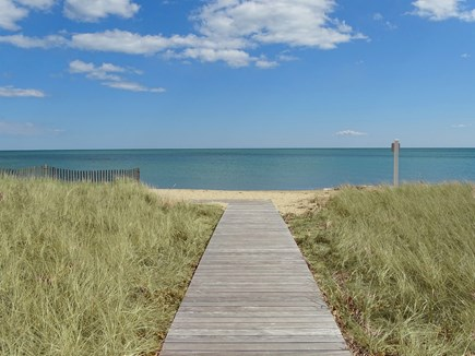 Mashpee, Popponesset Beach Cape Cod vacation rental - Walk 2 min. to private neighborhood section of Popponesset beach