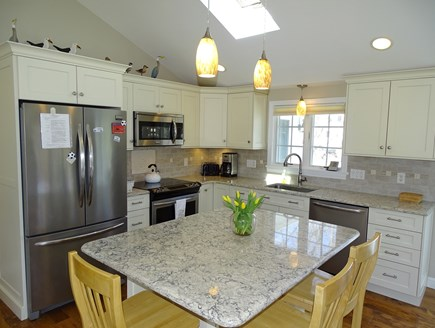 Mashpee, Popponesset Beach Cape Cod vacation rental - Completely remodeled kitchen with new appliances