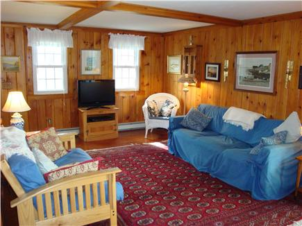 Eastham Cape Cod vacation rental - Relax in our comfortable living room