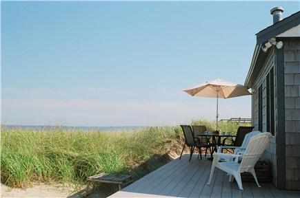 Sagamore Beach, Sandwich Sagamore Beach vacation rental - View from Deck