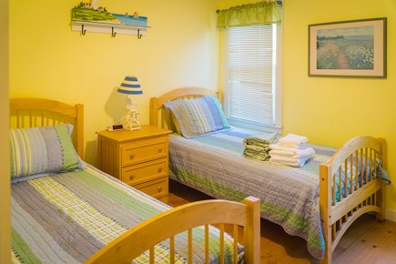 East Orleans Cape Cod vacation rental - 1st Floor Guest room with Two Twin Beds