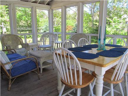 North Eastham Cape Cod vacation rental - Screened porch